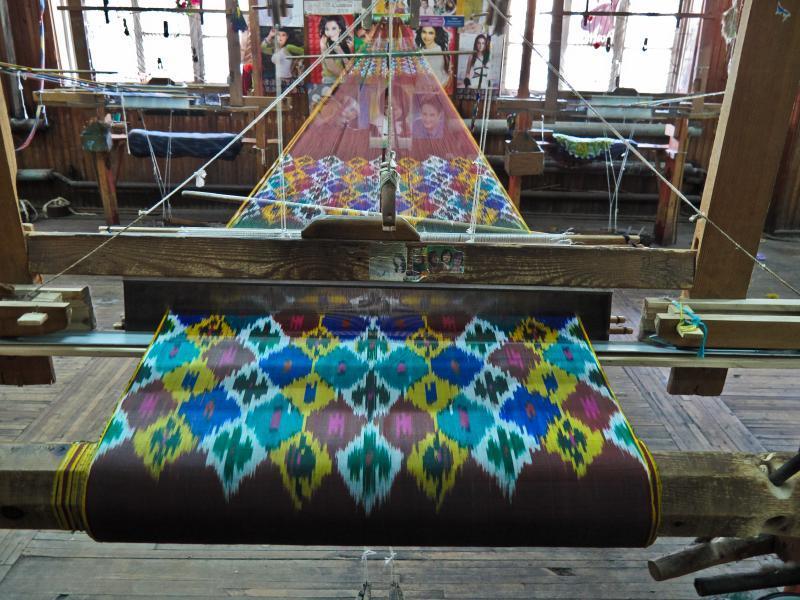 Шелковая фабрика «Едгорлик» в Маргилане