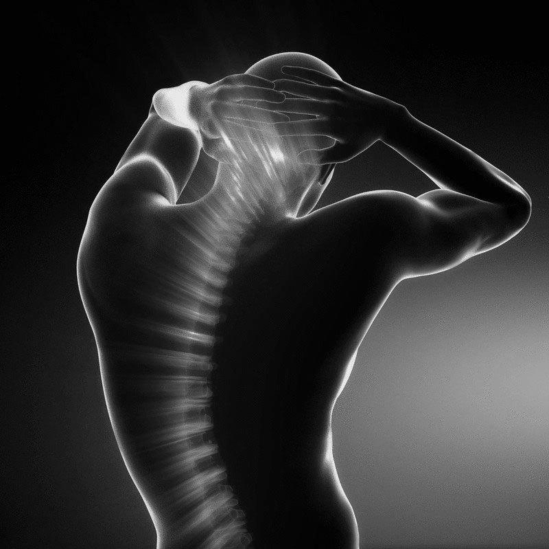 Омолаживающий массаж: дыхание позвоночным столбом