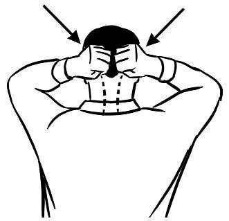Самомассаж затылка и шеи