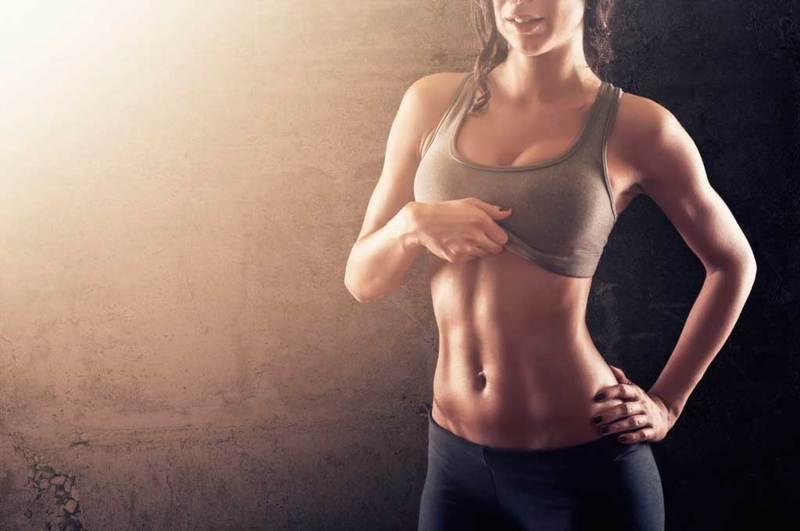 способы убрать жир живота боков