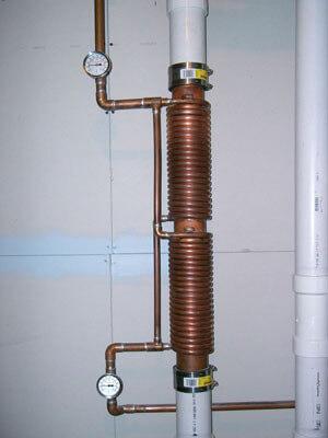 Каминные теплообменники с медной труб теплообменник вертикальные оборудование