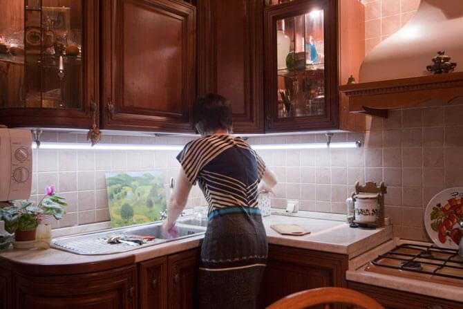 Светодиодная подсветка кухни своими руками фото 264