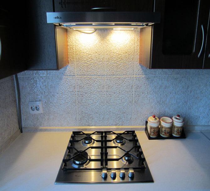 Светодиодная подсветка кухни своими руками фото 172