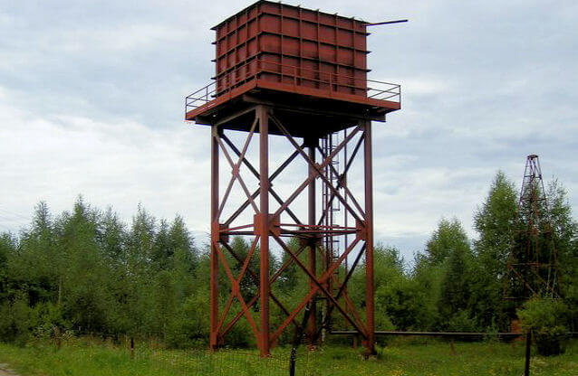 Водонапорная башня своими руками фото 975