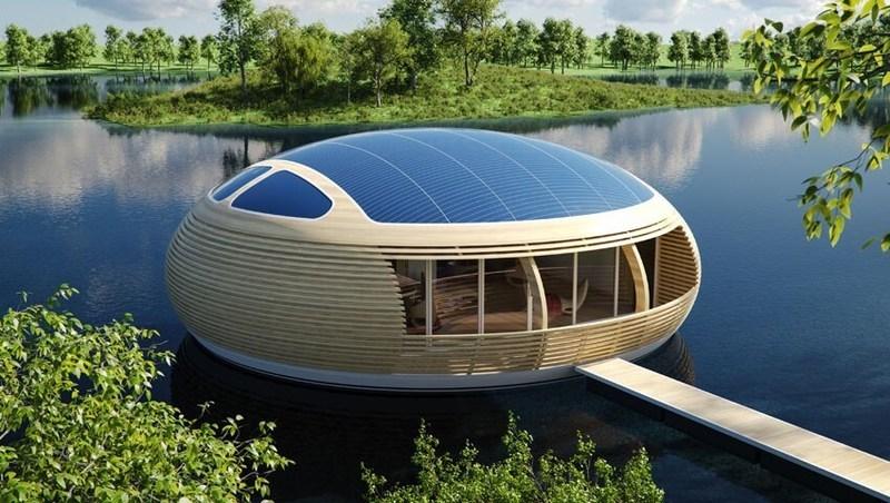 Плавучий дом проект