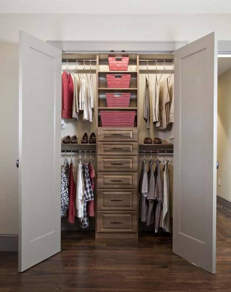 Дизайн гардеробной комнаты - создаем комфортную и стильную с.