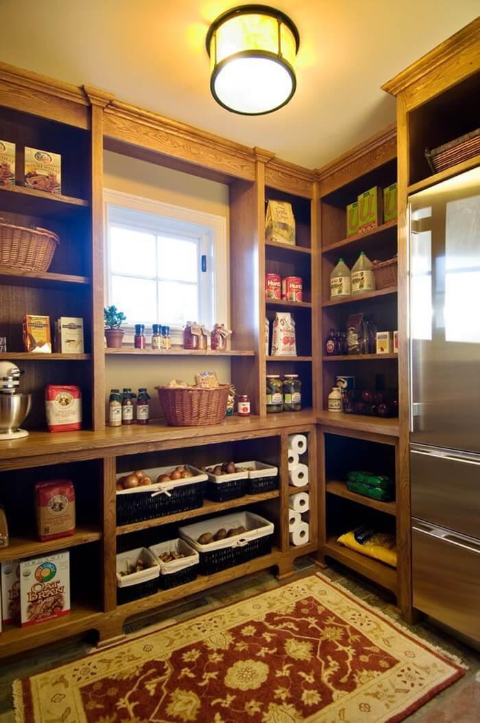 Оборудуем кладовку для хранения консервации - дизайн интерье.