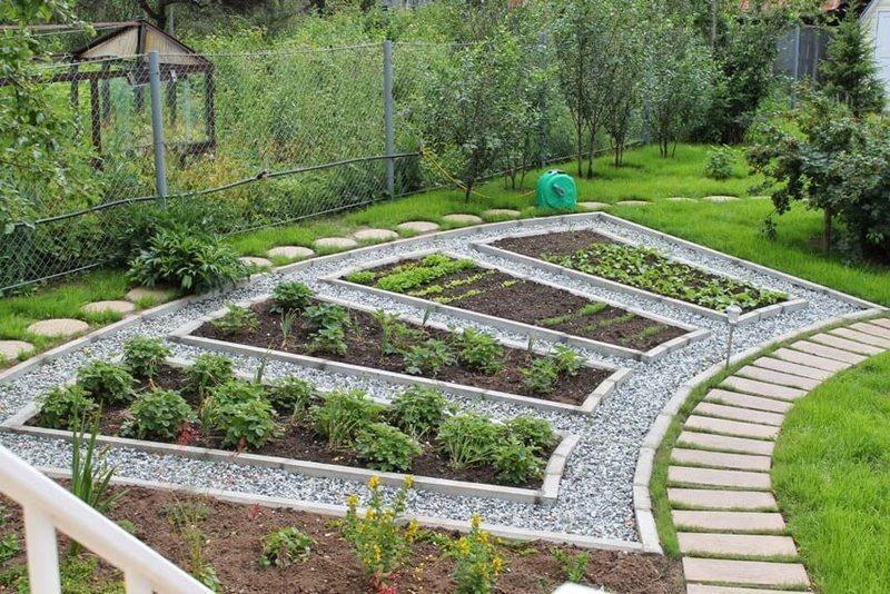 Как сделать красивый дизайн огорода своими руками: 100 …