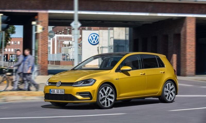 Новый электромобиль Volkswagen e-Golf 2017 представят в Лас-Вегасе