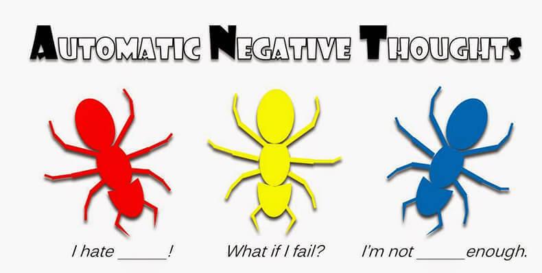 Автоматические (навязчивые) негативные мысли: что делать