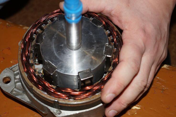Переделка автомобильного генератор своими руками