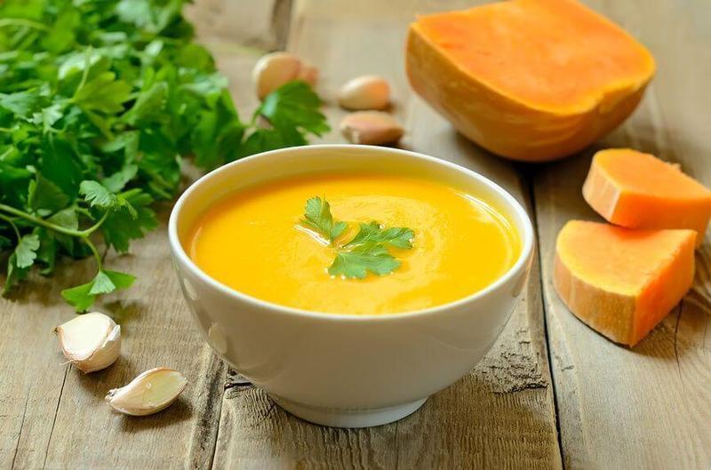 Суп-пюре из тыквы с мясом рецепты