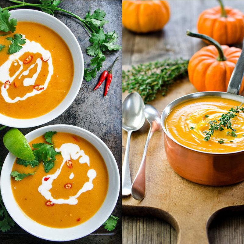как приготовить суп пюре тыквенный