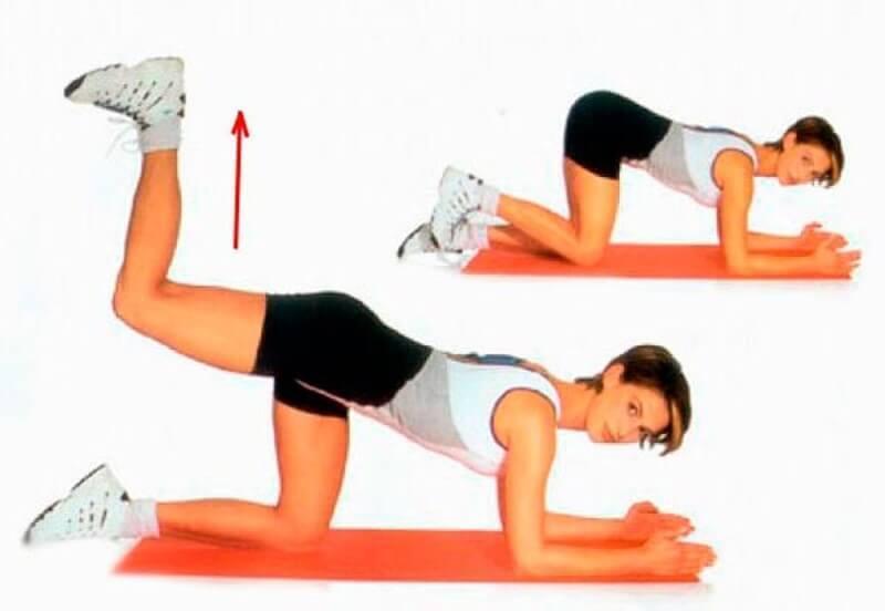 комплекс из 5 упражнений