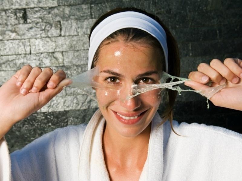 маска для волос с агар агаром