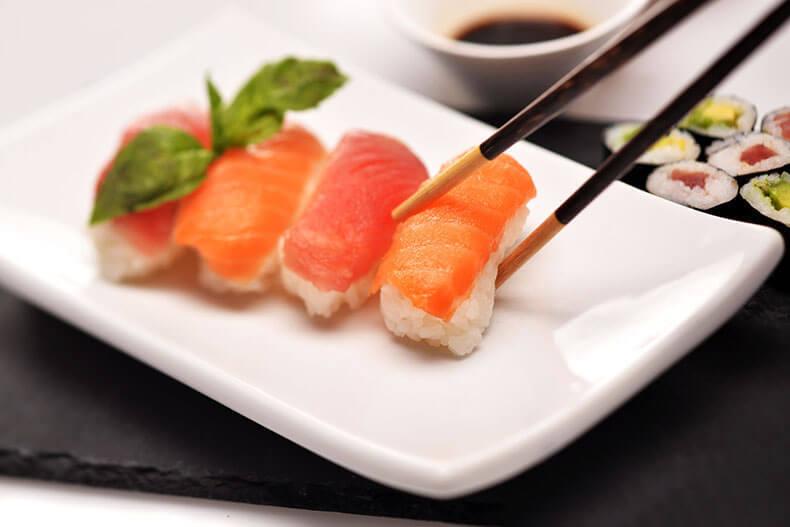 Можно ли есть суши