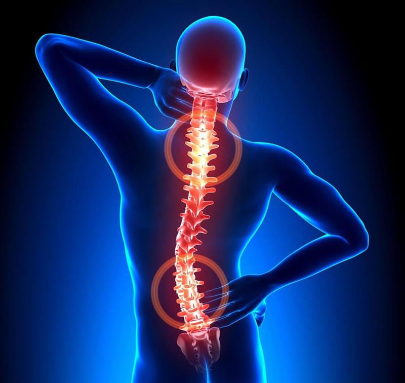 Одновременно грудной и поясничный остеохондрозы