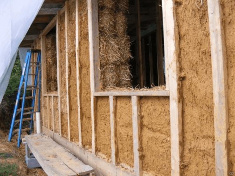 Глины и соломы дом своими руками