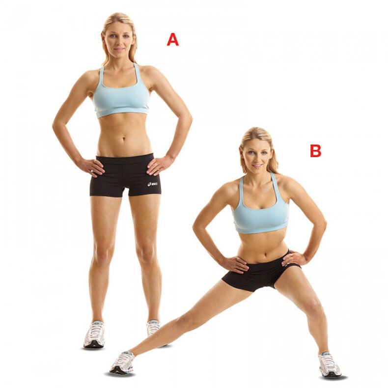 Тренируем приводящие мышцы: упражнения для внутренней поверхности бедра