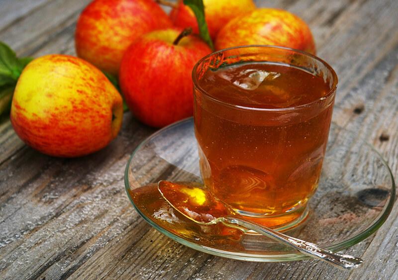 Яблоки для похудения отвар