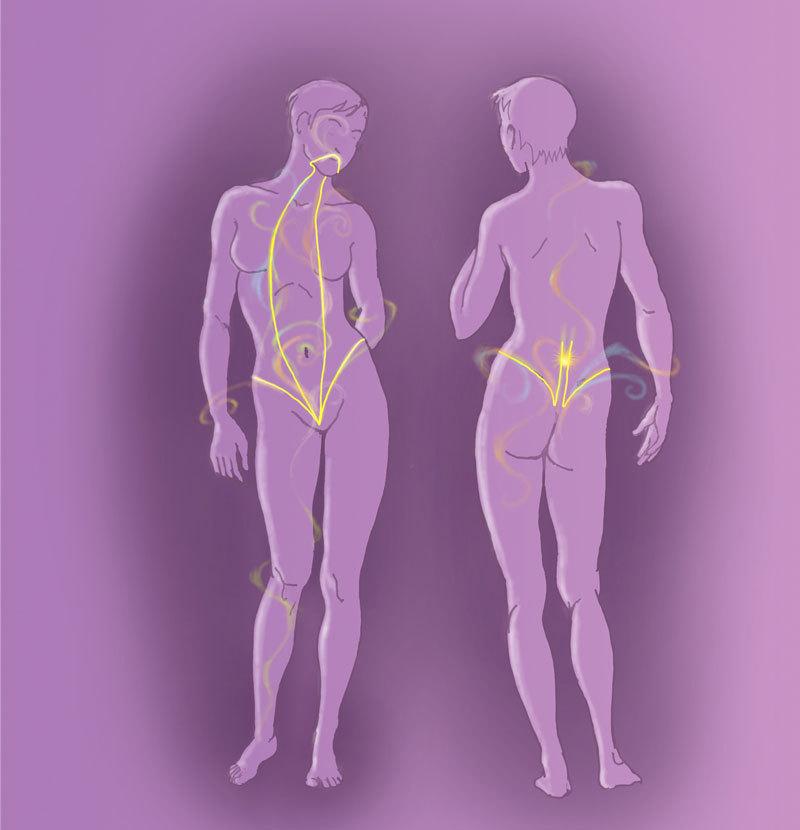 На карте тела: Зарядка для избавления от проблем
