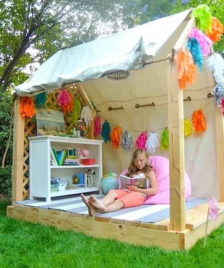 Детский домик своими руками фото и идеи