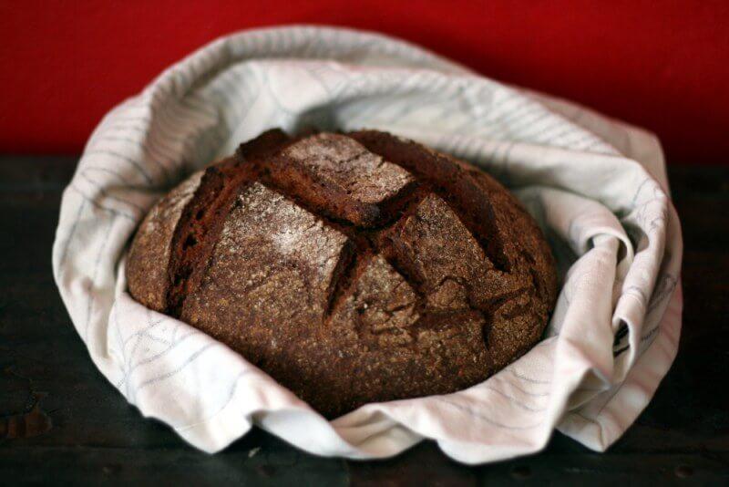 Рецепт ржаного хлеба в духовке в домашних условиях с фото