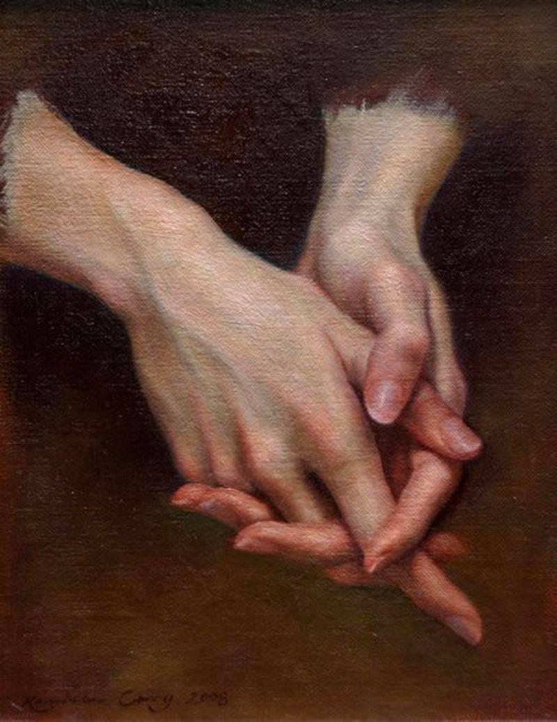 Художник рисовавший кисти руки