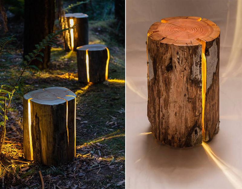 Декоративные светильники из дерева своими руками фото 83