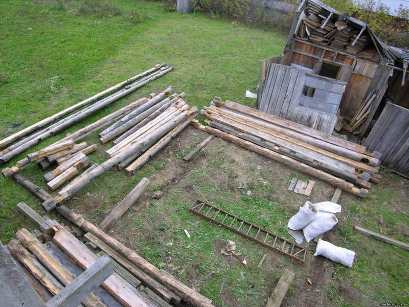 Реставрация и ремонт старого деревянного дома своими …