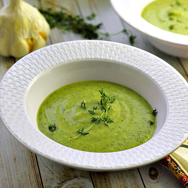 кабачки крем суп