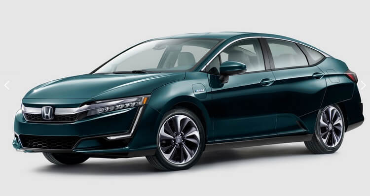 Honda представила электромобиль Clarity Electric и гибрид Clarity Plug-in Hybrid