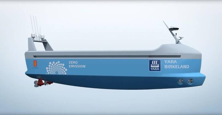 В Норвегии создадут контейнерное <a href='https://econet.ru/articles/tagged?tag=%D1%81%D1%83%D0%B4%D0%BD%D0%BE' target='_blank'>судно</a> с системой автопилотирования