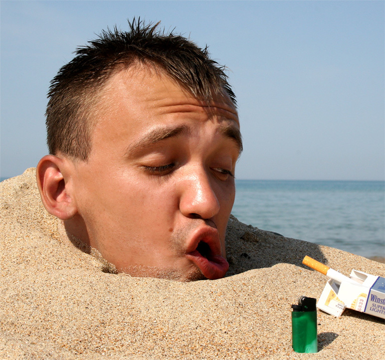 как не закурить утром
