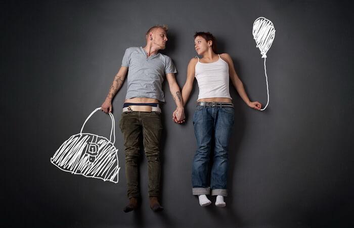 Жить вместе или жениться: мозг замечает разницу