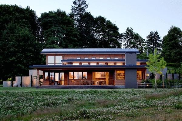 Экологичный LEED-сертифицированный дом в Орегоне