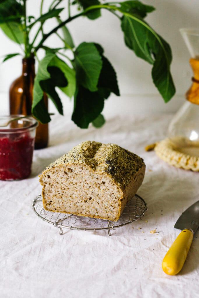 ДОЛОЙ ГЛЮТЕН: Хлеб из  зеленой гречки