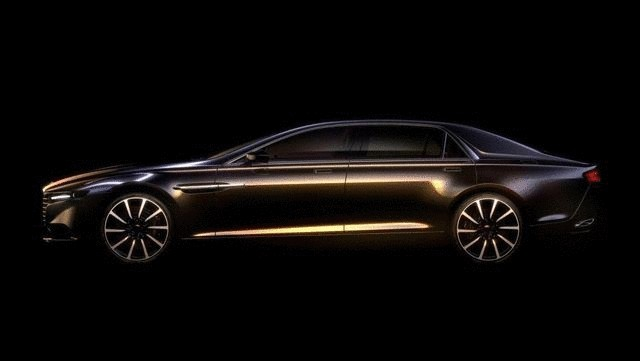 Aston Martin официально представил супер седанLagonda