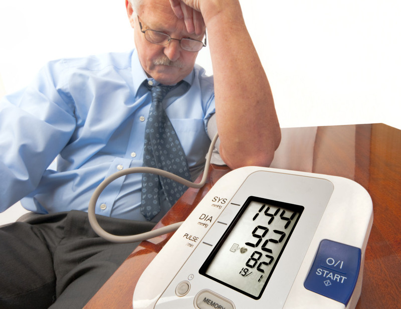 taking blood pressure If your blood pressure appears high, your doctor's office should take a reading in both arms and next time you come in, the reading should be from the arm that showed the higher blood pressure.