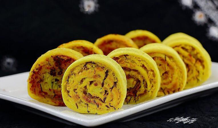 Картофельные рулетики «Алу Патра»