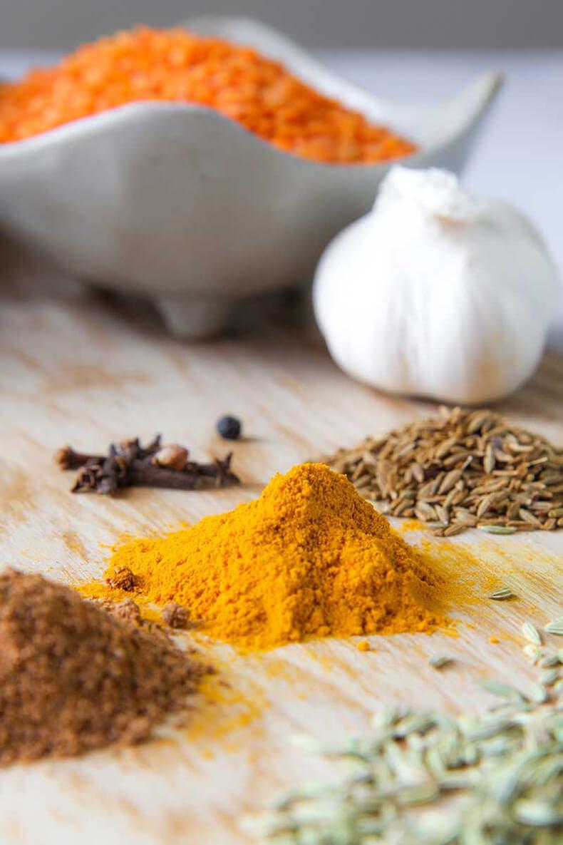 Масур дал: согревающий индийский суп
