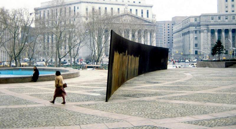 an analysis of the arc of reflection titled arc by richard serra For this writing assignment, you will need to carefully look that at the two attached photographs of richard serra's controversial sculpture entitled tilted arc richard serra was commissioned by the art-in-architecture division of general services administration in 1981 to create a 12 feet high, 120 foot long sculpture made out of cor-ten steel in.