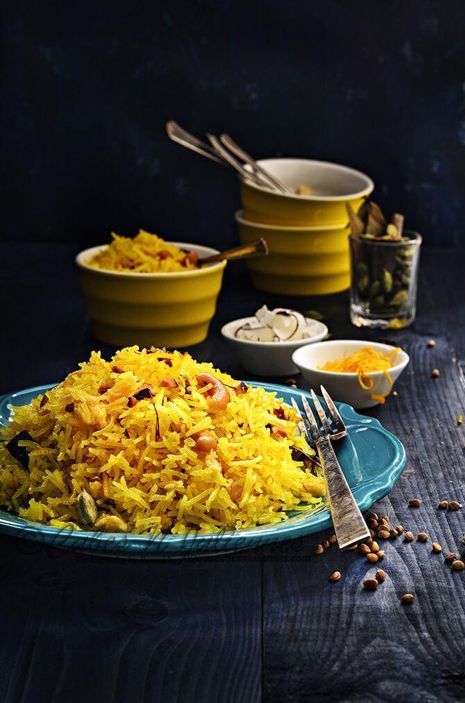 Нимбу чавал — лимонный рис