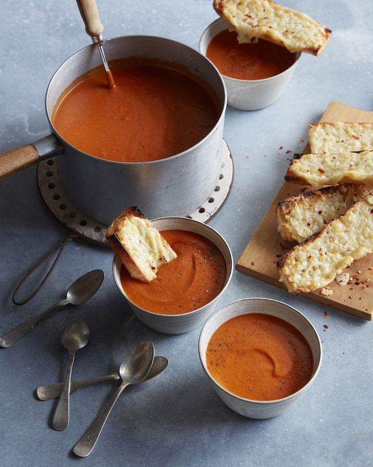 Постный суп из красного перца: просто и вкусно!
