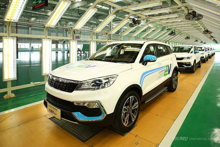 Компания Changfeng Motors выпустила пилотную партию электромобилей Leopaard CS9EV