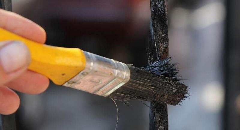 Окраска металла по ржавчине: главные правила