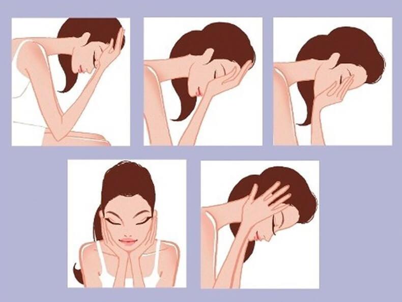 Лимфодренажный массаж, который снимает отечность лица