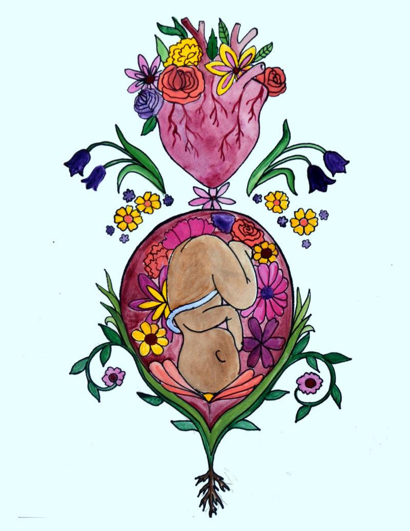 Лотосовые роды: бережное рождение ребенка в гармонии с ритмами природы