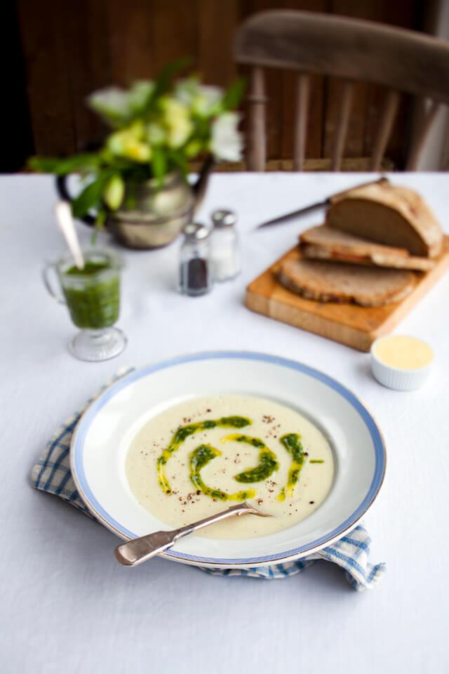 Крем-суп из топинамбура: вкусно и полезно!