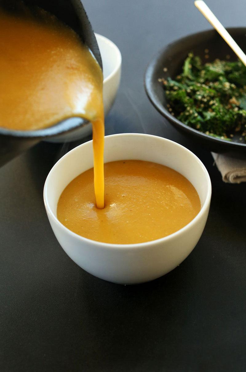 Тыквенно-кокосовый суп: веганский рецепт